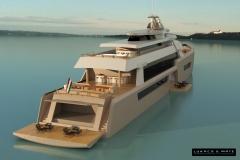 70 m luxushajó